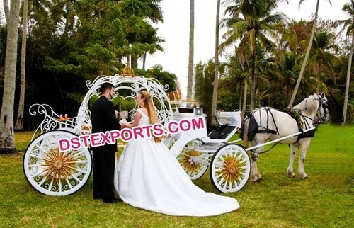 Cinderala Style Horse Carriage