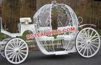 Sweet Cinderala Horse Carriage