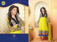 Yellow Anarkali Suits