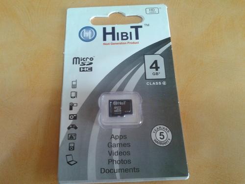 4GB HIBIT Memory Card
