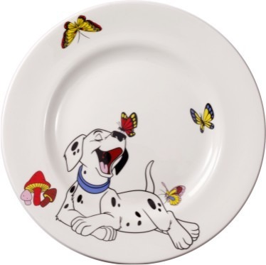 Printed Bone China Plates
