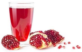 Clarified Pomegranate Juice