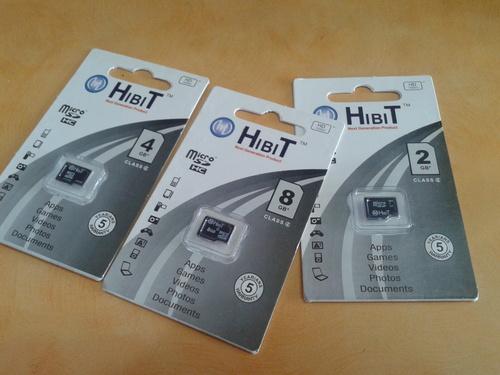 HIBIT 8GB Retail Packing Card