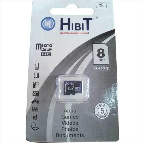 HIBIT 8GB Micro SD Card