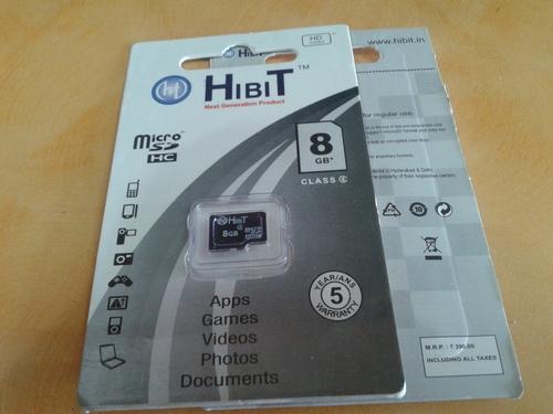 HIBIT 8GB Memory Cards
