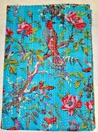 Handmade Reversible Kantha Blanket
