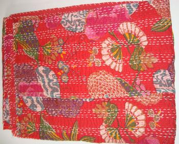 Handmade Kantha Blanket