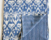 Handmade Ikat Design Blanket