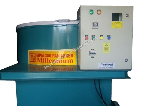 Pan Mixer With Panel Board
