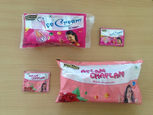 1 Rs &  5 Rs Pouch Packing Products