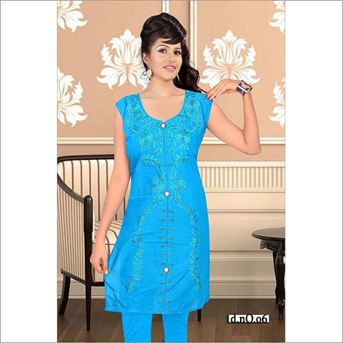 Blue ladies Kurtis