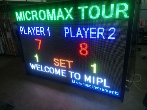 Electronic Scoreboards