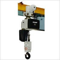 Running Electric Trolley Chain Hoist