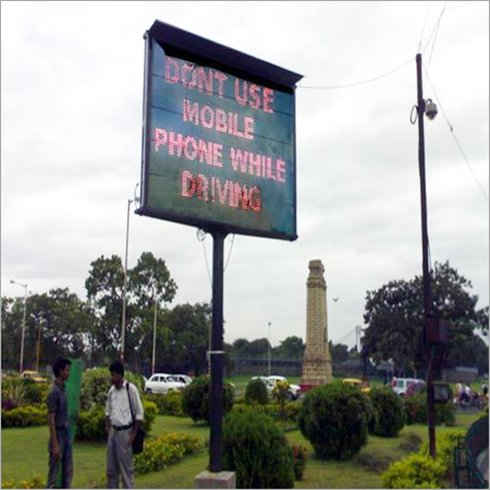 Digital Message Display Board