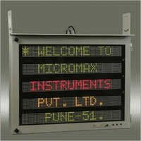 Industrial Production LED Displays