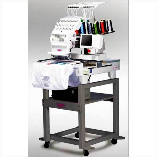 COMPACT SINGLE HEAD AUTOMATIC EMBROIDERY MACHINE