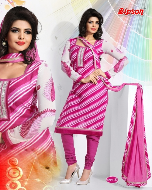 Printed Embriodered Suits