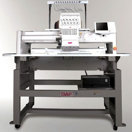 BRIDGE SINGLE HEAD AUTOMATIC EMBROIDERY MACHINE