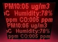 Pollution Parameter Display Board