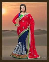 Heavy Embriodered Sarees