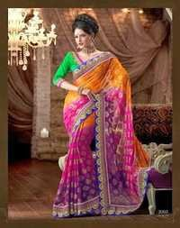 Georgette Embriodered Sarees