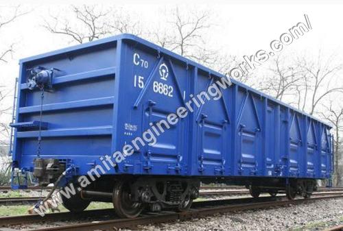 Plain Railway Wagon Brake System