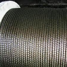 Un Galvanised Wire Ropes