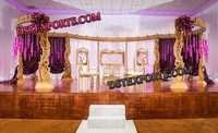 Wedding Wooden Peacock Mandap
