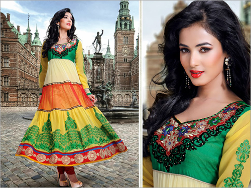 Printed Anarkali Suits