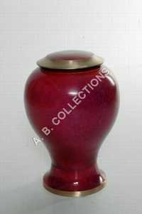 METAL STYLISH FUNERAL URN