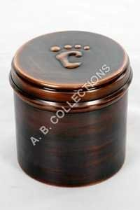 COPPER PET PAW MARK URN