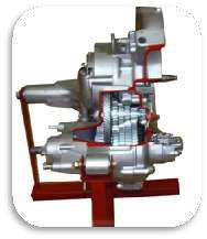 Cut section Model Of Gear Box