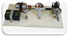 Cut Section Model of Electrical System