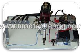 DEMONSTRATION BOARD OF ELECTRONIC IGNITION SYSTEM