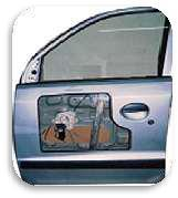 CUT SECTION MODEL OF POWER WINDOWS WITH ONE DOOR