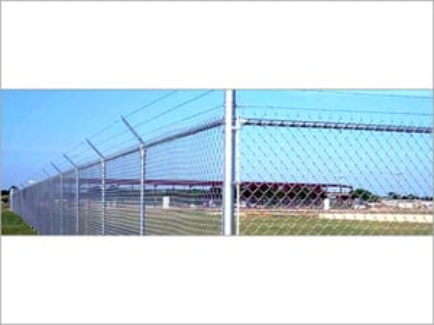 Galvanised Steel Chain Link Fence