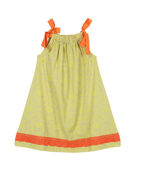 Yellow Colour Baby Dress