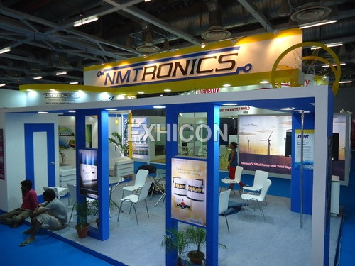 Corporate Exhibition Stall Fabrication Services