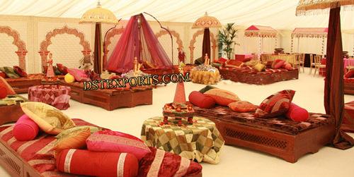 ASIAN WEDDING MEHANDI NIGHT STAGE