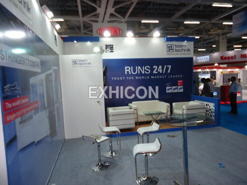 Exhibition Stall Materials : Laminated exhibition stall manufacturer in delhi ncr