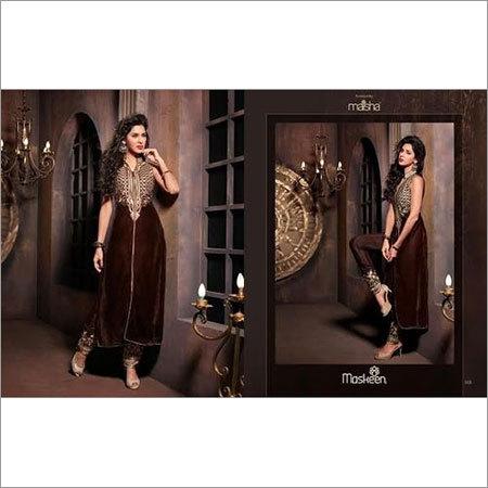 Ladies Long Length Designer Dress
