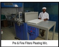 Pre Filter Machine