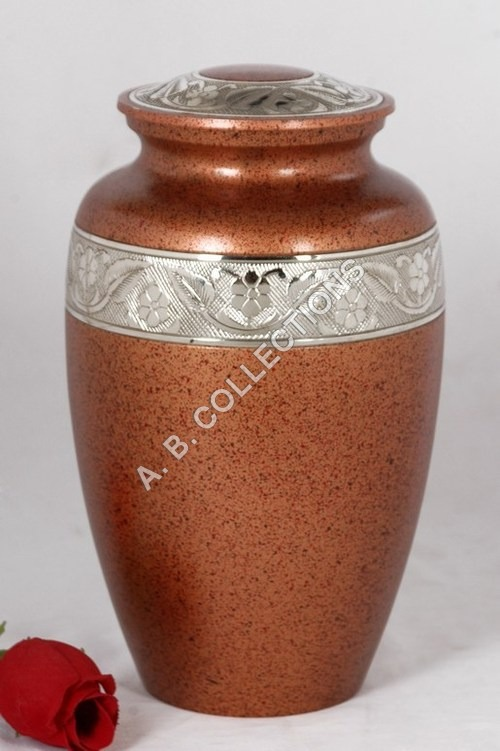 CLASSIC BROWN MARBLE CREMATION URN