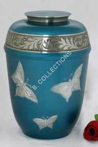 EUROPEAN  BUTTERFLY CREMATION URN