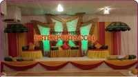 ASIAN MEHANDI STAGE SET