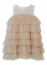 CREAM baby designer dress