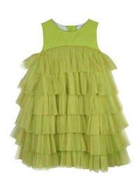 GREEN baby designer dress