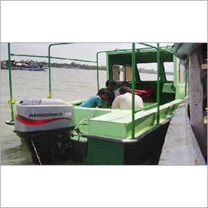 FRP Patrolling Boat