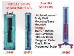 Metal Body Manometers & Mano Meters