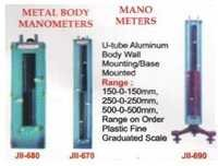 Metal Body Manometers & Mano Meters